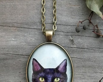 Custom Pet Necklace | Memorial Necklace | Animal Lover Gift | Jewelry | Pendant