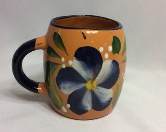 Mexican pottery handmade mug