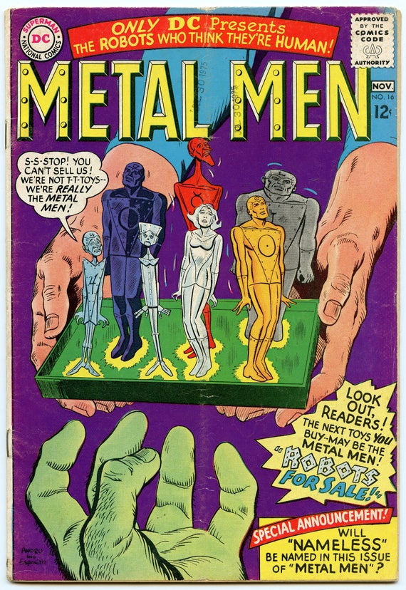 Metal Men 16 Nov 1965 VG- (3.5)