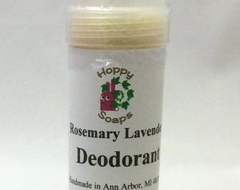 Rosemary Lavender Deodorant - Handmade Deodorant - Natural Deodorant - Aluminum Free Deoderant