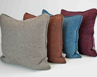 Pure Wool Tweed Scatter Cushion