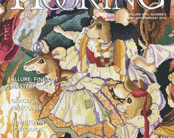Rug Hooking Magazine - Jan/Feb 2018 Issue
