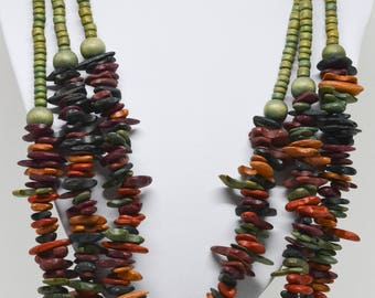 Charming Multi Strand Necklace