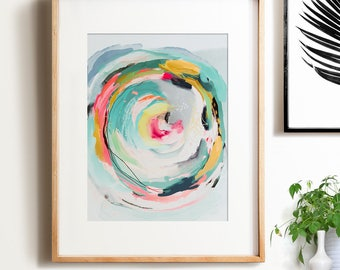Abstract art, Wall art, PRINTABLE art, Colorful art, Abstract print, Modern painting, Abstract painting, Brushstroke art,Wall decor, Pastel