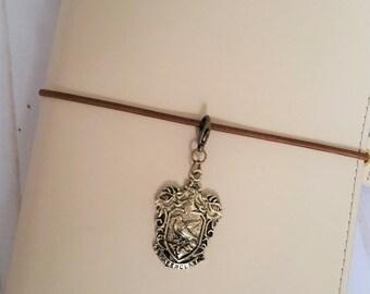 Ravenclaw Travelers Notebook Charm / Harry Potter Charm/ Erin Condren Charm / TN Charm / Planner Charm / Zipper Charm / Purse Charm