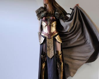 Complete Hippolyta Costume inspired wonder woman movie 2017 Cosplay
