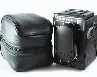 LUBITEL 166U Universal Russian Medium Format 6x6 Rollei Copy TLR Camera
