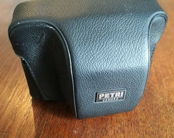 Vintage Petri Computor 35 Camera Case for 1970s Rangefinder Camera