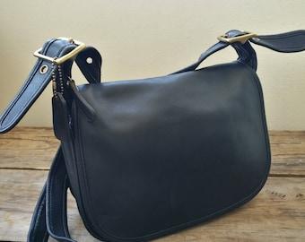 Vintage Coach black Patricia Legacy 9951 black shoulder bag