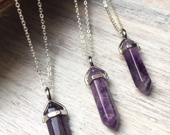 Amethyst necklace amethyst pendant amethyst jewelry crystal amethyst crystal amethyst necklace amethyst pendant amethyst bohemian necklace quartz necklace mozeypictures Images