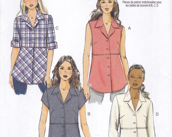 FREE US SHIP Butterick 5924 150th Anniversary Shirt Blouse Uncut Sewing Pattern  Size 10/16 18/26 Bust 32 34 36 38 40 42 44 46 48 New uncut