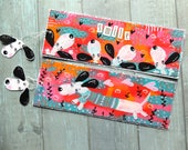 SALE 2 Bookmarks. Dogs Smile. Hand painted. Cute animals. Book lover. Bookworm. Gift for her