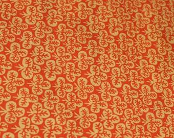 Kaffe Fassett Fabric Clover Rust