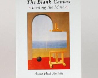 The Blank Canvas art idea book by Anna Audette