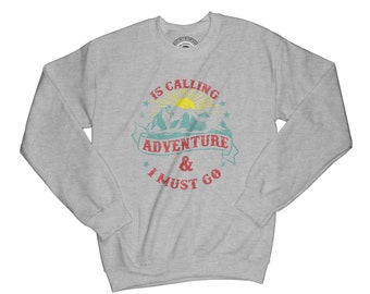 Adventure sweatshirt wilderness sweater mountains sweatshirt wild sweatshirt forest sweatshirt lumberjack sweatshirt hipster sweatshirt AP11