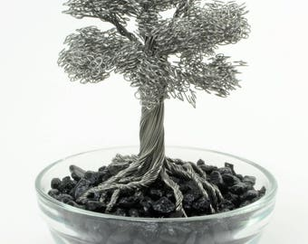 Tiny Stainless Steel Wire Tree #01