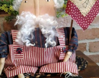 Primitive Handmade Uncle Sam