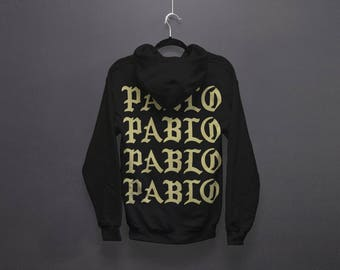 ON SALE - I Feel like Pablo The Real Life of Pablo TLOP Hoodie Paris Pop up
