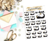 So Done - Penelope Penguin | TT15 | Teeny Tiny Planner Stickers