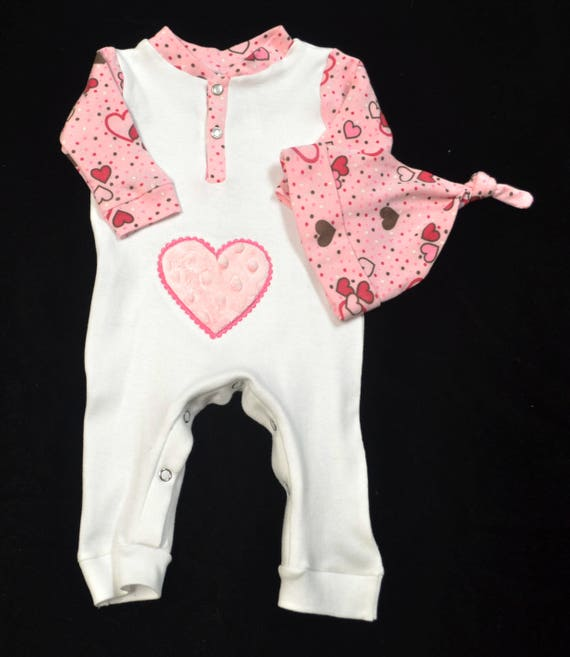 Personalized, Custom Made Baby Outfit, Upscale Baby Outfit, Going Home Outfit Girl-Baby Shower Gift Girl-Coming Home Outfit Girl