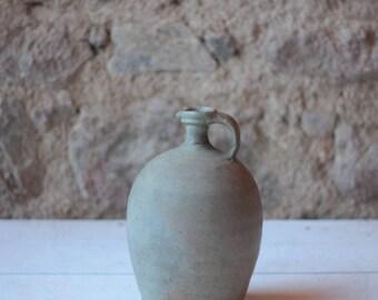 "11"" Antique French Stoneware Jarre"