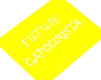 "Capoeira Acrylic Painting, Capoeira Art, Nursery Decor Wall Art, Gender Neutral Wall Decor, Future Capoeirista, Baby Shower Gift, 8"" x 10"""