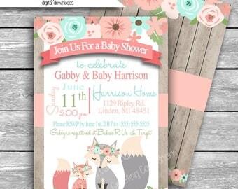 Baby Shower Invitation | Etsy