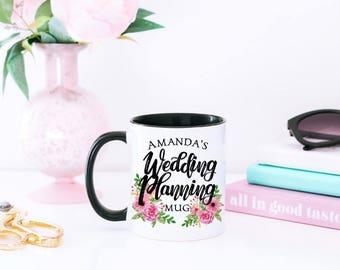 Wedding Planning Mug - Engagement Mug - Engaged Mug for BFF - Engagement Gift Mug - Custom Engagement Gift - Customized Mug - Custom Mug
