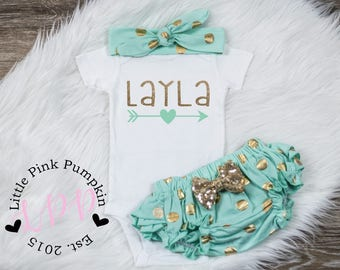 Baby Girl Clothes, personalized name, baby girl outfit, new baby outfit, cute girls clothes, cute girls clothes, baby girl clothing