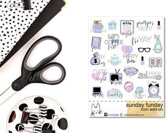 Sunday Funday  - ADD-ON Icons