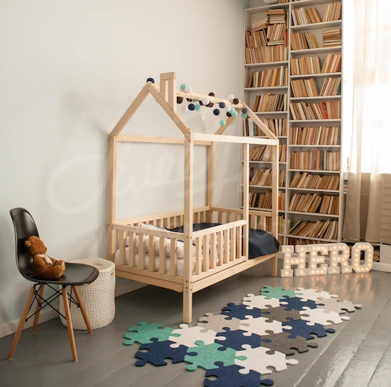 House Bed Frame Kids Bed FULL DOUBLE Size Bed House