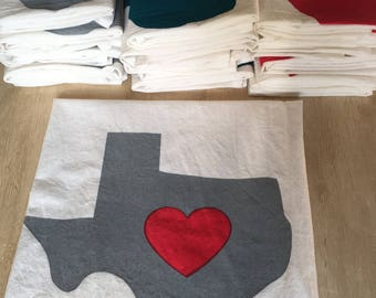 10 Tea Towels Bulk Order - Free Shipping for Texas Locals Only
