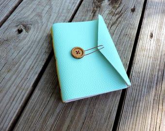 Hand bound book blank sketchbook long stitch journal
