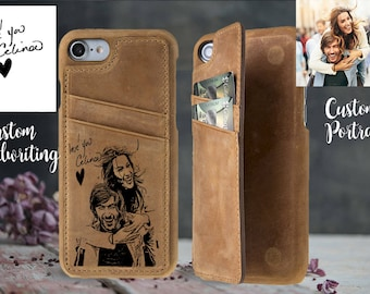 Custom iPhone 7 case leather iPhone 7 plus case wallet iPhone 8 case iPhone 8 plus case iPhone X case iPhone 6 plus case iPhone 6 case