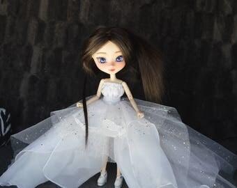 [Pullip, Obitsu 27 cm =] ice princess dress