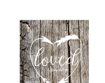 1 John 4:9  Loved Arrows SVG DFX Cut Christian svg file Valentine svg vinyl  wood sign wedding svg cameo Commercial use