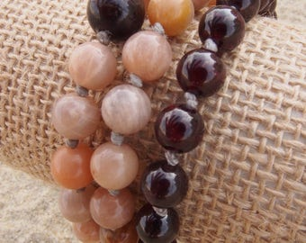 Vitality and Intuition Triple Stack Mala