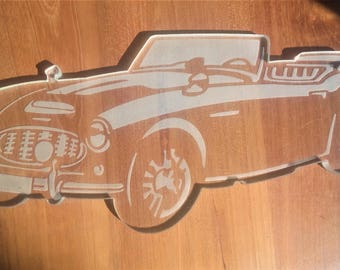 Austin Healey or other glass plate