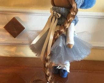 Cloth Doll. Rag Doll.  (Handmade, Russian doll)