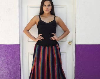 Mexican traditional skit//Mexican Maxi Skirt