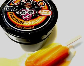 Friction Addiction Intimate Oil- Orange Dreamsickle