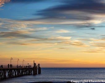 Sunset Photography, Sunset Photo, Beach Photo, Sunset Print