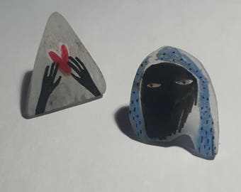 SALE Plastic Pins
