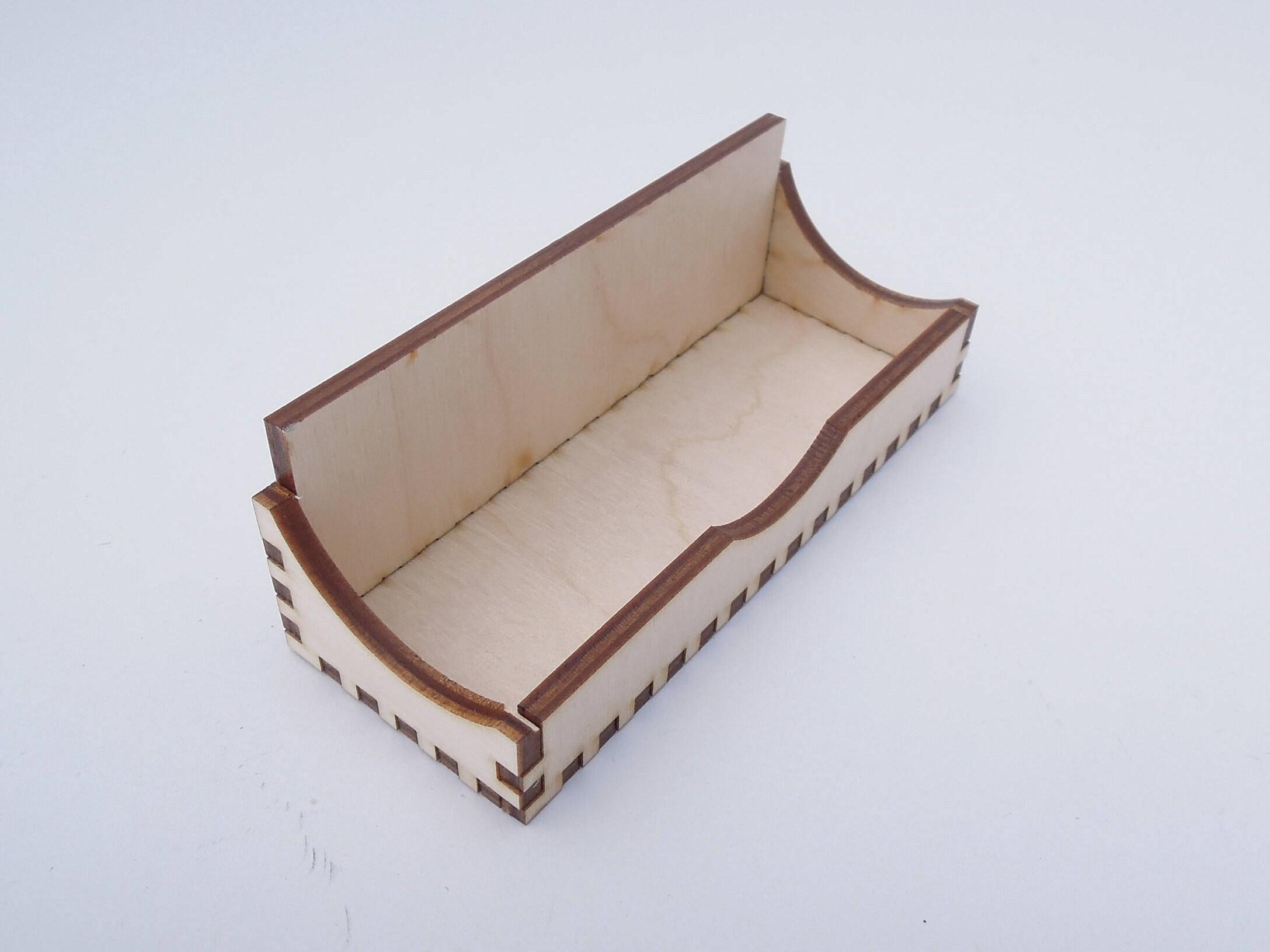Wooden Business Card Holder For Crafts