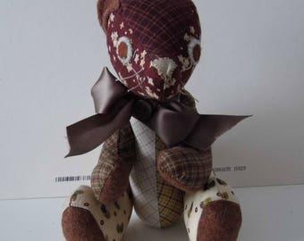 handmade bear called oakie