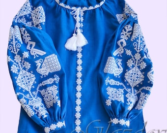 Ukrainian embroidered blouse, vyshyvanka