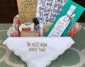 Sympathy Gift; Grief gift; In Memory of Gift; Bereavment Gift; Condolence; Gift Basket; Psalm 56:8; Loss Gift; personalized sympathy gift