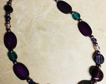 Purple Sensation Necklace