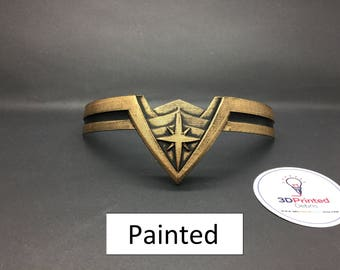 Wonder Woman Tiara inspired by Wonder Woman with realistic paint job for Cosplay or Souvenir