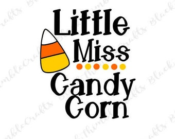 Little Miss Candy Corn svg, toddler svg, halloween svg, trick or treat svg, october svg, fall svg, spooky SVG vector file, candy corn cutie